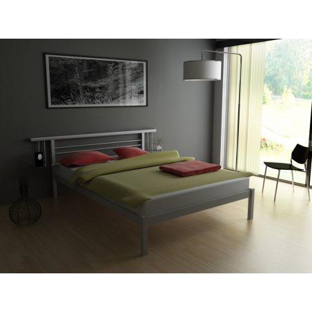Металеве ліжко Astra МЕТАКАМ в білому кольорі