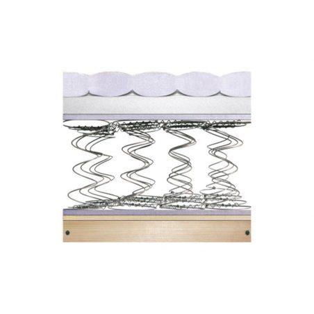 Матрас каркасный Matroluxe на бонельном блоке пружин с подъемным мех-м