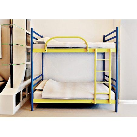 Металеве ліжко двояруснt Fly Duo МЕТАКАМ