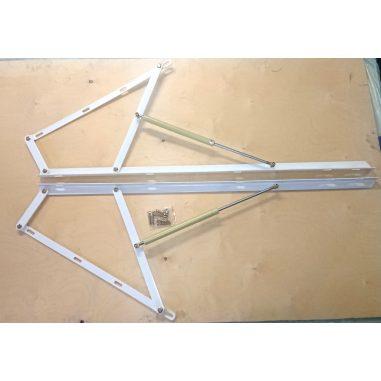 Подъемный механизм кровати (газовый подъемник) XXL