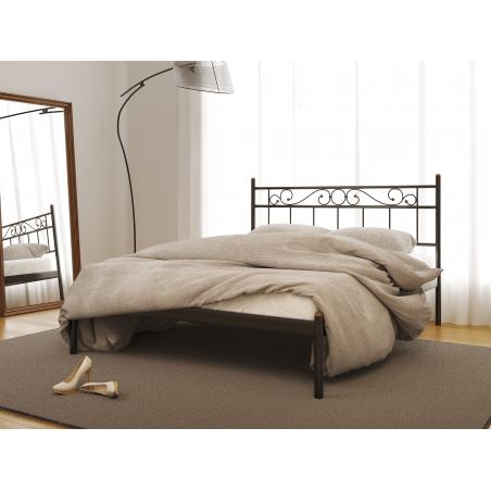 Металлическая кровать Эсмеральда-1 Метакам