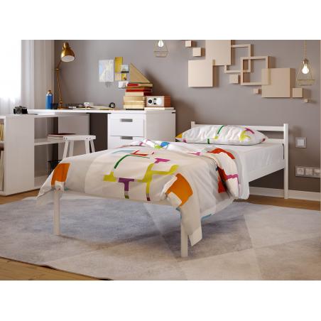 Металеве ліжко Comfort Метакам