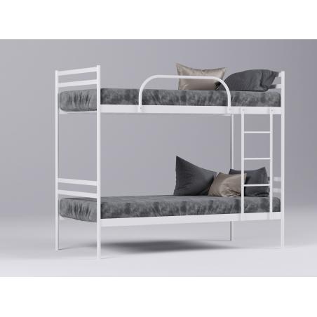 Металлическая кровать двухъярусная Comfort Duo Метакам