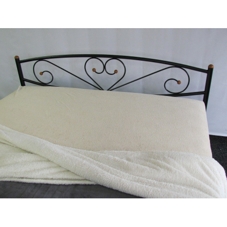 Металлическая кровать Milana 2 Метакам сердце
