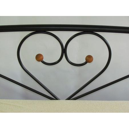 Металлическая кровать Milana 2 Метакам изголовье