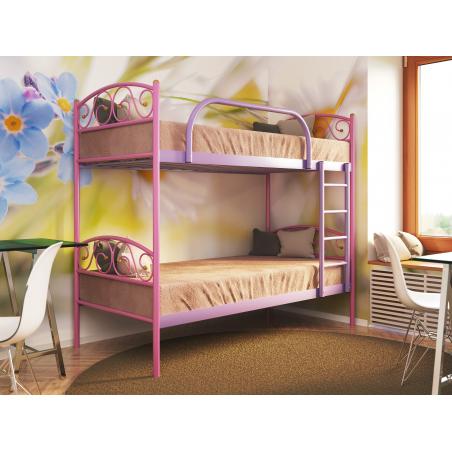 Металлическая кровать двухъярусная Verona Duo Метакам