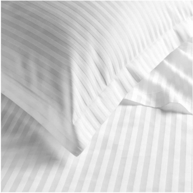Подушка Jefferson Sateen White Stripe 40х60см Boston