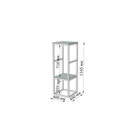 высота барной стойки Мини Модуль Металл-Дизайн Loft