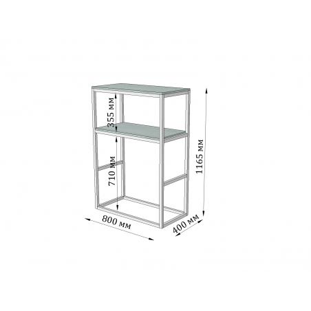 высота барной стойки Макси Модуль Металл-Дизайн Loft