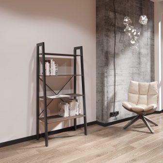 Стелаж 4 полиці Призма Металл-Дизайн Loft