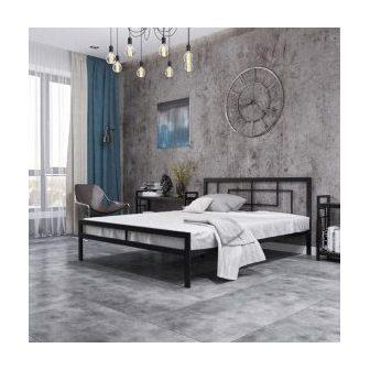 КВАДРО ліжко металеве лофт Металл-Дизайн Loft