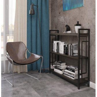 Стелаж Лонг 3 полиці Квадро Металл-Дизайн Loft