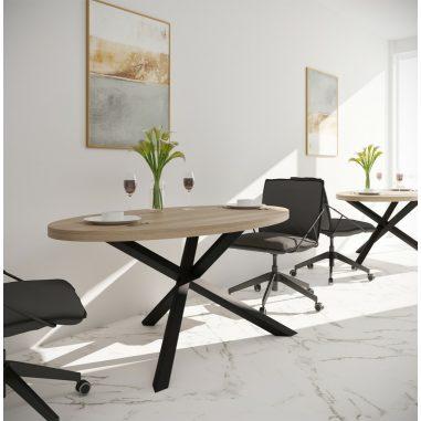 Стол обеденный Айрон Металл-Дизайн Loft