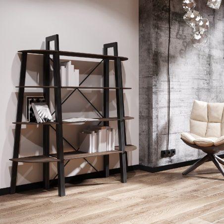 Комплект стеллажей на 4 полки Призма Металл-Дизайн Loft
