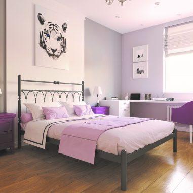 Металлическая кровать Тиффани...