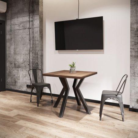 Стіл обідній Свен 4 ноги Металл-Дизайн Loft