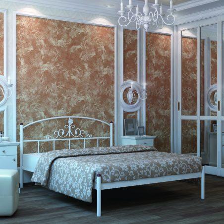 Металеве ліжко Кассандра Металл-Дизайн