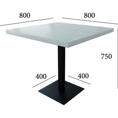 Габариты стола Тренд 1