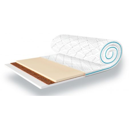 Тонкий матрац Mini Memo 2 в 1 Kokos жаккард Sleep&Fly Mini