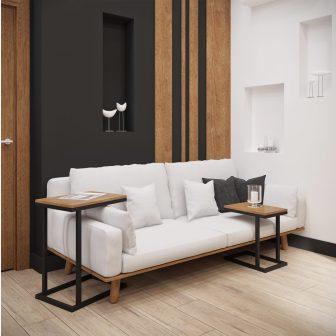 Комплект журнальный Кофе Брейк  XXL Металл-Дизайн Loft