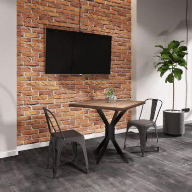 Стол обеденный Фолд 1 Металл-Дизайн Loft