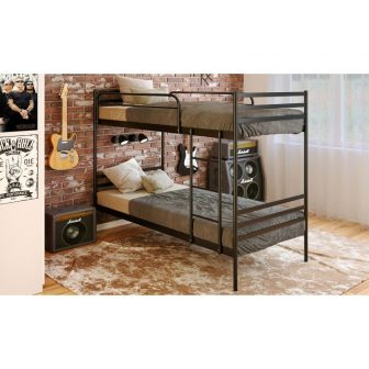 Металеве ліжко двоярусне Optima Duo Метакам