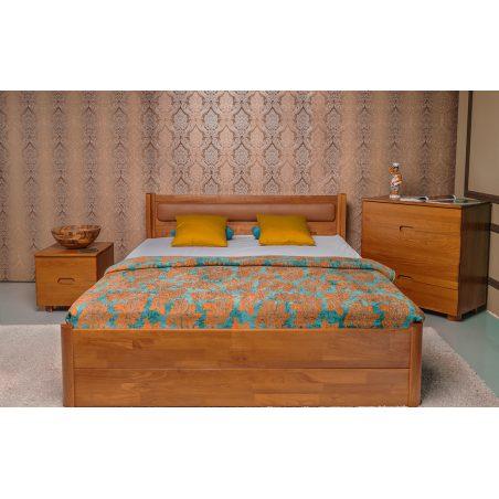 Кровать Марго (Margo)  с ящиками Олимп бук