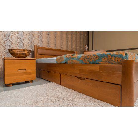 Кровать Марго (Margo)  с ящиками Олимп натуральное дерево
