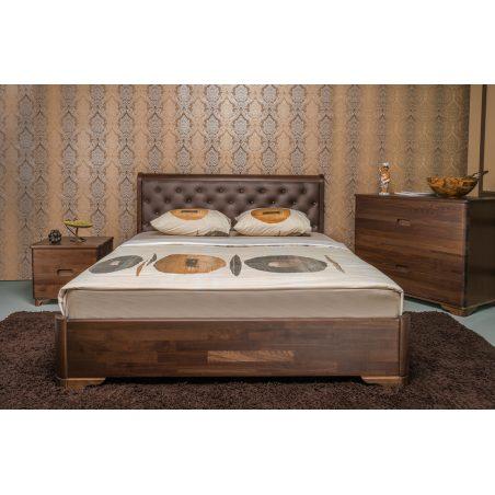 Кровать Милена Premium Олимп натуральное дерево