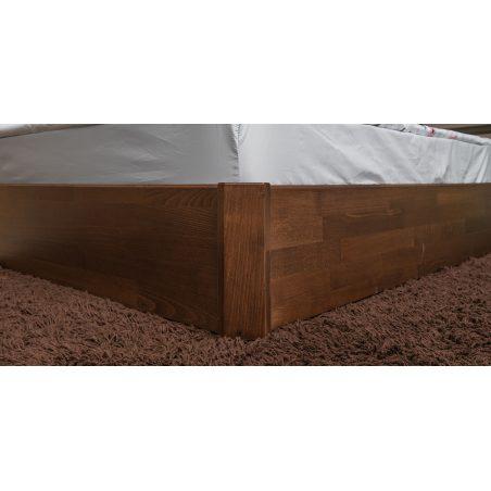 Кровать Сити Премиум с подъемной рамой натуральное дерево