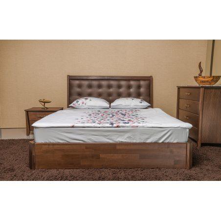 Кровать Сити Премиум с подъемной рамой вместительный короб