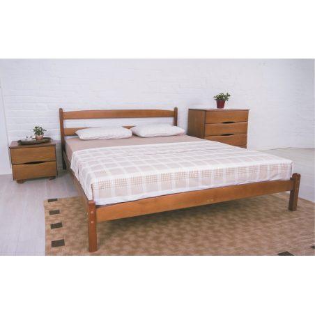 Лика (Lika) кровать без изножья Олимп натуральное дерево