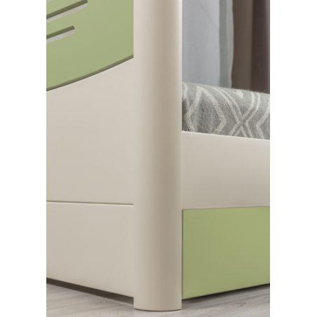 Марго Премиум (Margo Premium) кровать Олимп натуральный бук