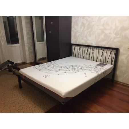 БЕРГАМО (Bergamo) металлическая кровать Метакам с матрасом