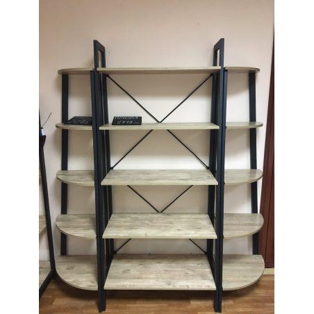 Комплект стеллажей на 5 полок Призма Металл-Дизайн Loft