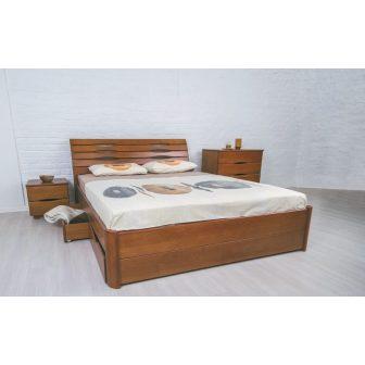 Маріта Люкс (Marita Lux) ліжко з ящиками Олімп