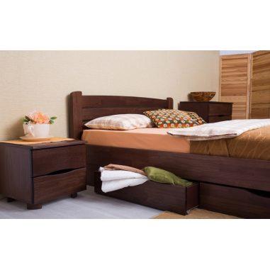София V (Sofia V) кровать с ящиками Олимп натуральное дерево