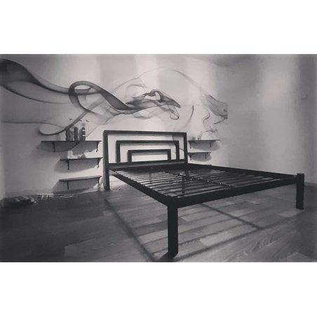 БРІО 1 (Brio 1) металеве ліжко МЕТАКАМ