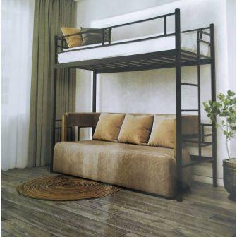 Дабл Чердак (Dabl Cherdak) металлическая кровать  Металл-Дизайн