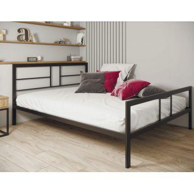 Дабл (Dabl) кровать металлическая лофт Металл-Дизайн Loft